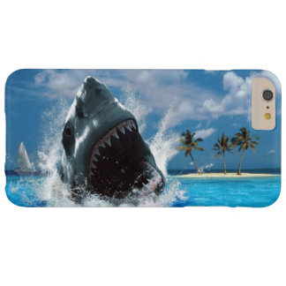 Shark Vacation Island iPhone 6 Plus Case