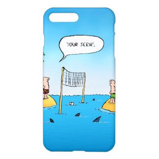 Shark Volleyball Funny Cartoon iPhone 7 Plus Case