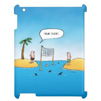 Shark Volleyball Funny iPad Case