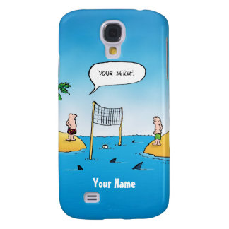 Shark Volleyball Funny Samsung S4 Case Galaxy S4 Covers