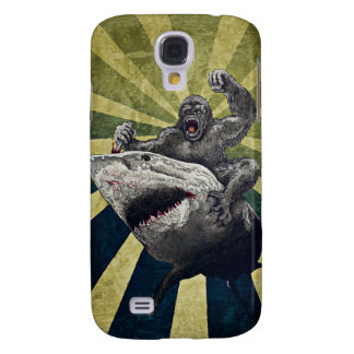 Shark vs Gorilla Samsung Galaxy S4 Case