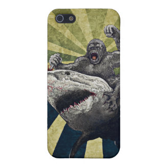 Shark vs Gorilla Cover For iPhone SE/5/5s