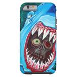 Shark Vs Zombie Tough iPhone 6 Case