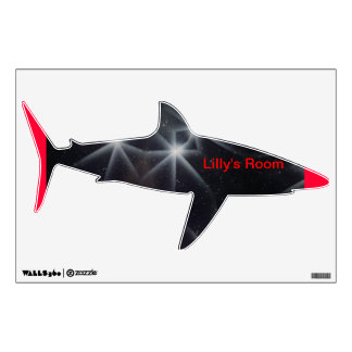 """""""Shark Wall Decal  - Room Personalization"""""""