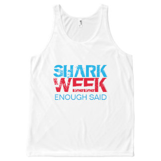 SHARK WEEK All-Over-Print TANK TOP