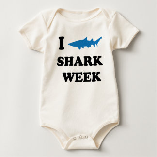 Shark Week Baby Bodysuit