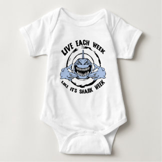 Shark Week Baby Bodysuit