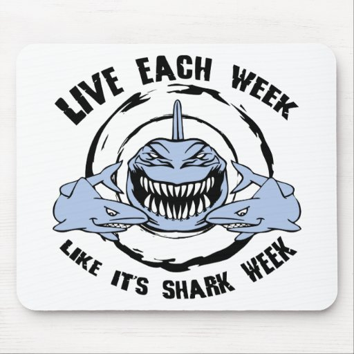 Shark Week Mouse Pad