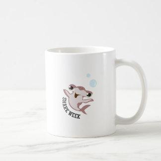 Shark Week Classic White Coffee Mug