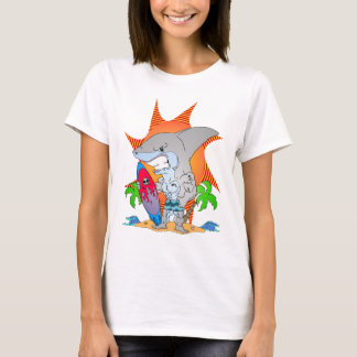 Shark Week Surfer T-Shirt