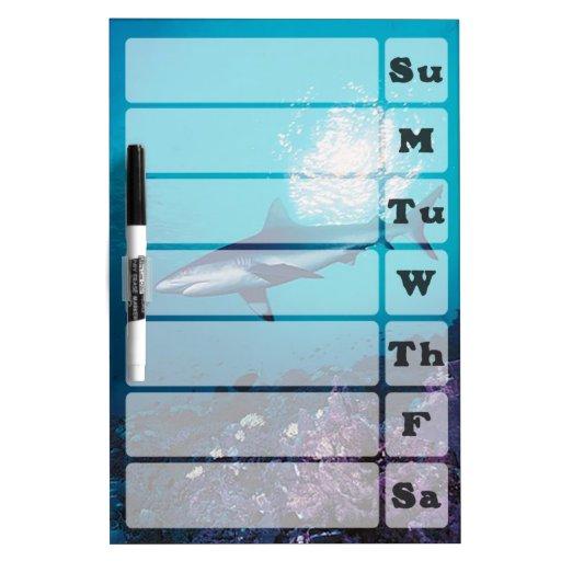 Shark Weekly Planner Dry Erase Boards