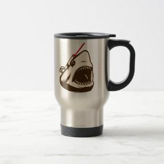 Shark with a Frickin' Laser Beam Coffee Mugs