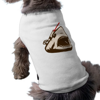 Shark with a Frickin' Laser Beam Doggie Tee Shirt