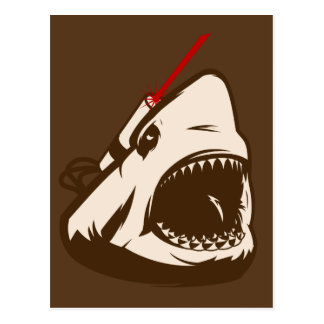 Shark with a Frickin' Laser Beam Postcards