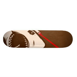 Shark with a Frickin' Laser Beam Skateboard