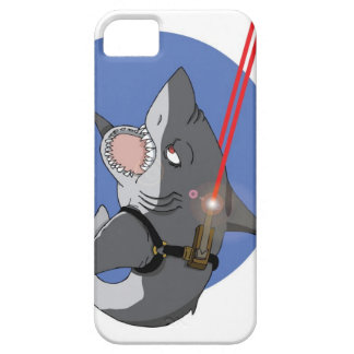 Shark with laser beam iPhone SE/5/5s case