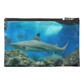 Shark with Reef  Accessories Bag