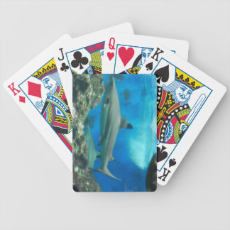 Shark with Reef Deck of Cards Bicycle Playing Cards