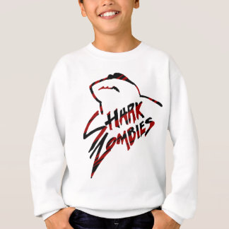 Shark Zombies with Shades Sweatshirt