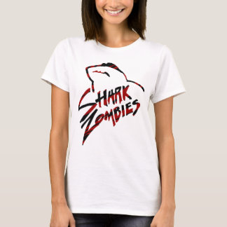 Shark Zombies with Shades T-Shirt