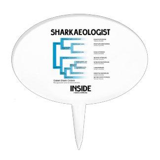 Sharkaeologist Inside (Shark Order Lineage) Cake Pick