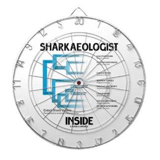 Sharkaeologist Inside (Shark Order Lineage) Dartboards