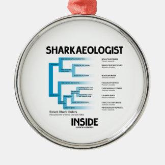 Sharkaeologist Inside (Shark Order Lineage) Ornaments