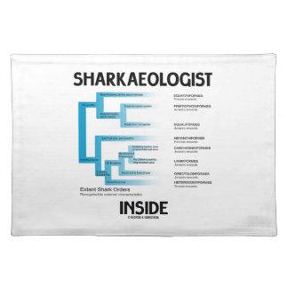 Sharkaeologist Inside (Shark Order Lineage) Placemats