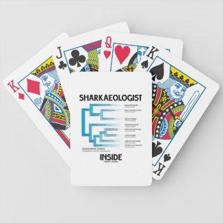 Sharkaeologist Inside (Shark Order Lineage) Bicycle Card Decks