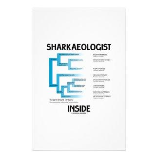Sharkaeologist Inside (Shark Order Lineage) Stationery