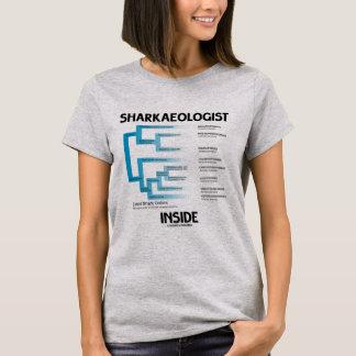 Sharkaeologist Inside (Shark Order Lineage) T-Shirt