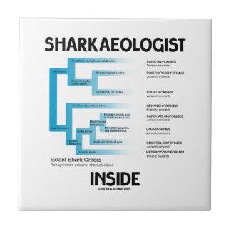 Sharkaeologist Inside (Shark Order Lineage) Tiles