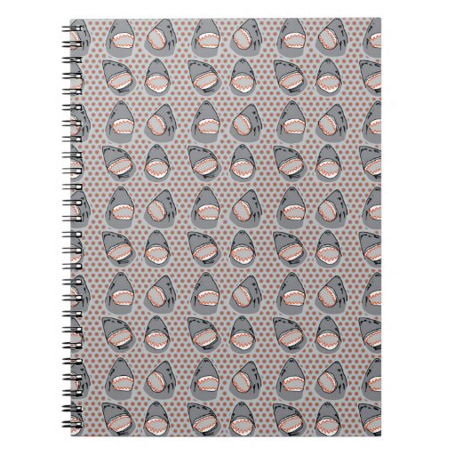 Sharkbite en gris atlántico cuaderno