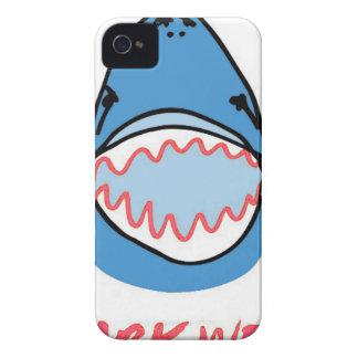 Sharkbite for Shark Week August 10-17 2014 in Blue iPhone 4 Case-Mate Case