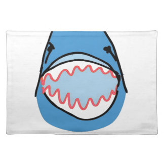 Sharkbite for Shark Week August 10-17 2014 in Blue Place Mats