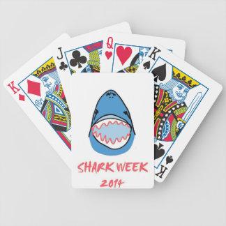 Sharkbite for Shark Week August 10-17 2014 in Blue Bicycle Card Decks