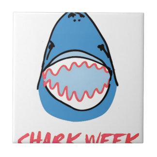Sharkbite for Shark Week August 10-17 2014 in Blue Tiles