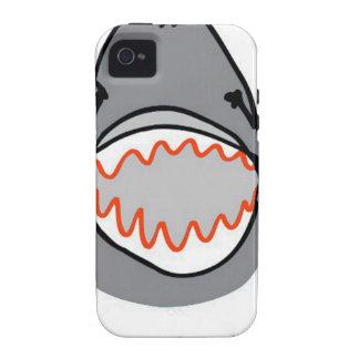 Sharkbite for Shark Week August 10-17 2014 in Grey Vibe iPhone 4 Case