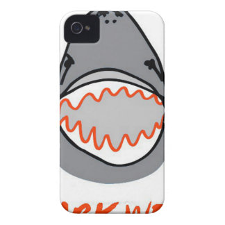 Sharkbite for Shark Week August 10-17 2014 in Grey iPhone 4 Case-Mate Case