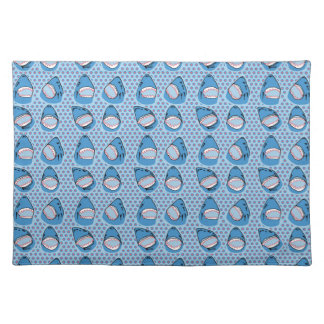 Sharkbite in Pacific Blue Placemats