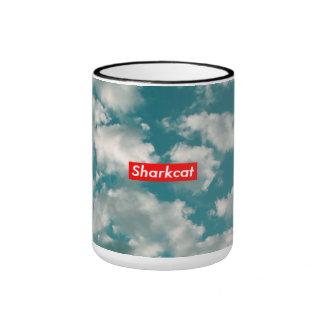 Sharkcat Clouds MUG