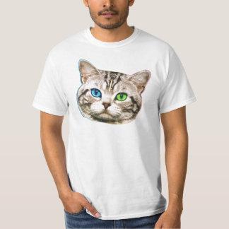 sharkcat del gato del shwag playera