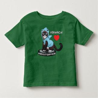 #SharkCat Loves KRISTOFFER ♥ Toddler T-Shirt