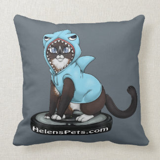 #SharkCat pillow