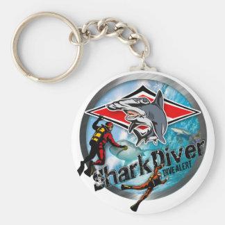 sharkdiver cartoon  special serie keychain