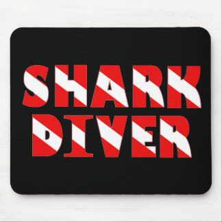 sharkdiver copy mouse pad