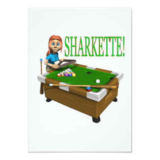 Sharkette Card