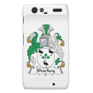 Sharkey Family Crest Motorola Droid RAZR Covers