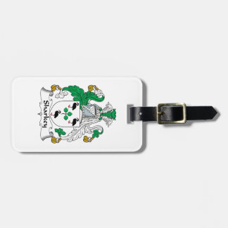 Sharkey Family Crest Tag For Luggage
