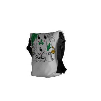 Sharkey Family Crest Messenger Bag